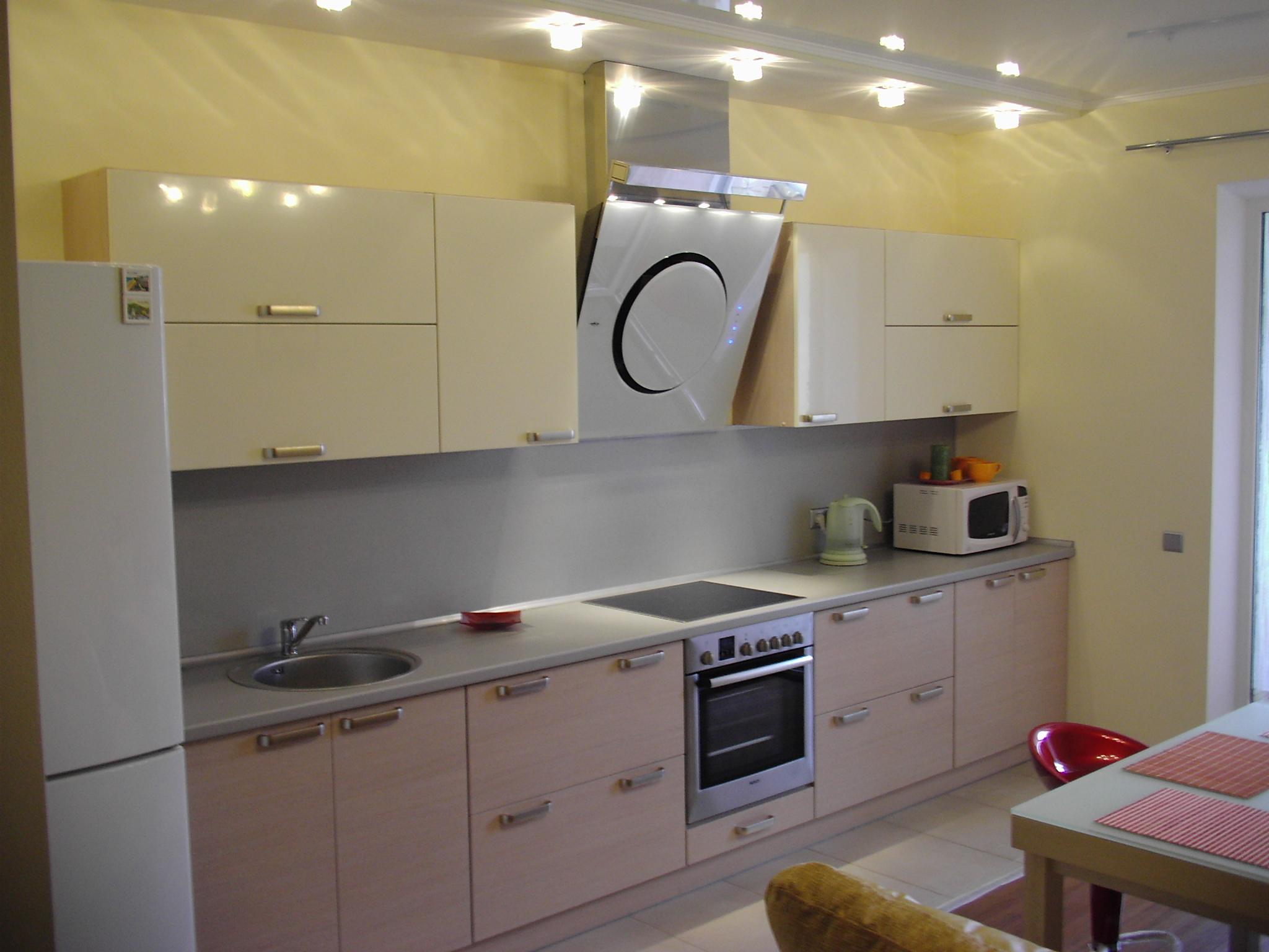 Кухня 3 метра прямая фото